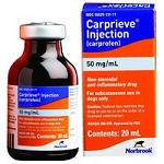 Carprieve Injection 50mg/mL 20mL Vial