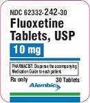 Fluoxetine Tabs 10mg #30