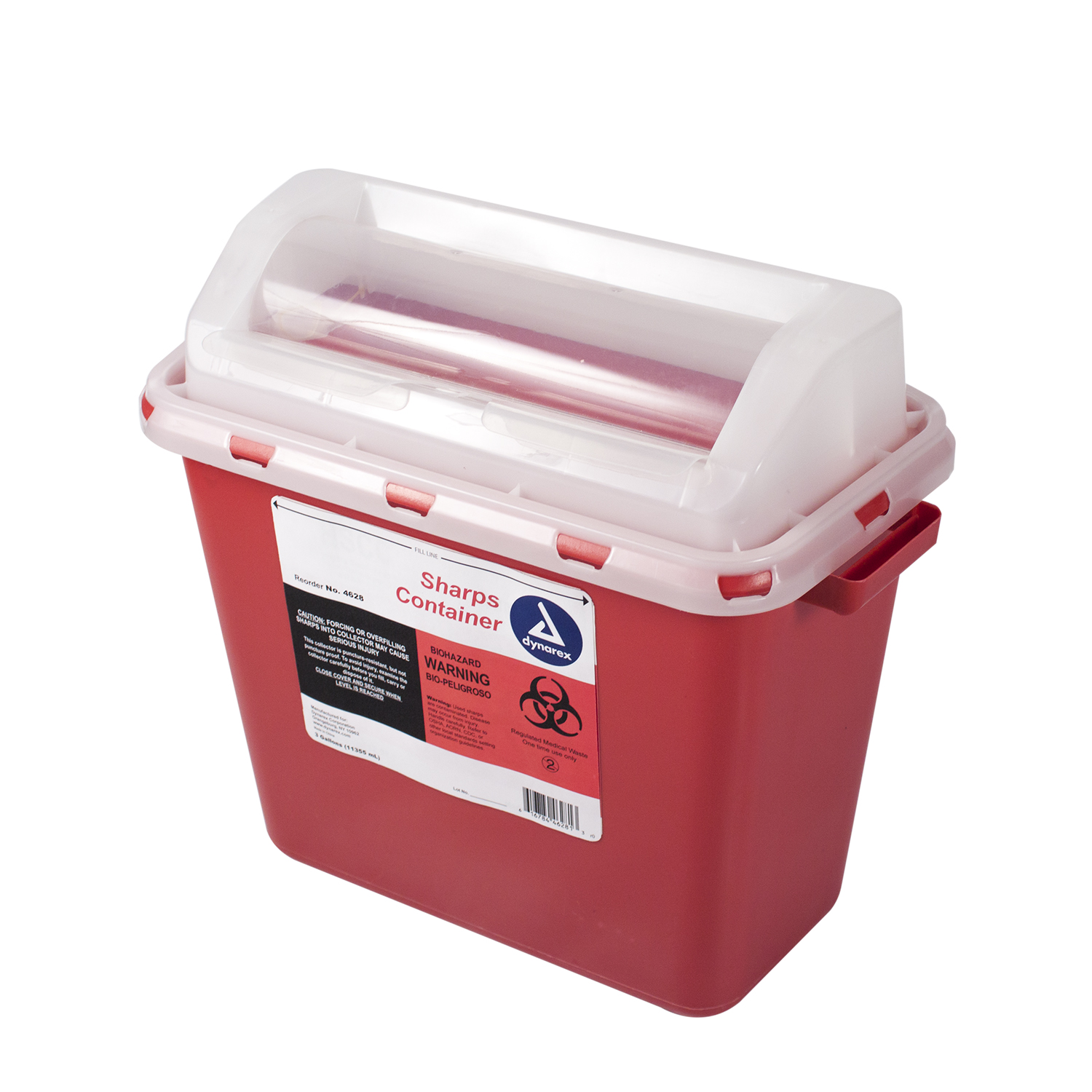 Sharps Container Mailbox Lid 12 Quart (3 Gallon)