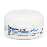 DentAcetic Dental Wipes 25/jar