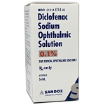 Diclofenac Sodium Solution 0.1% 5mL