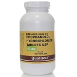Propranolol HCl Tabs 40mg #1000