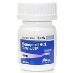 Donepezil HCl Tabs 5mg #30