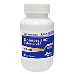 Donepezil HCl Tabs 10mg #1000