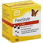 Freestyle Lite Strips 100/box