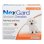 NexGard™ Chewables Orange 4-10 lbs 3 Doses