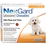 NexGard™ Chewables 6 Doses Orange 4-10 lbs