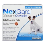 NexGard™ Chewables Blue 10.1-24 lbs 3 Doses