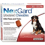 NexGard™ Chewables Red 60.1-121 lbs 6 Doses