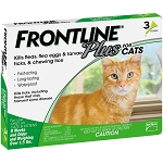 Frontline® Plus For Cats Green 3 Doses