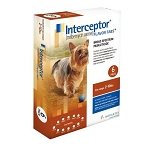 Interceptor® Flavor Tabs 6 Doses Brown 2-10 lbs