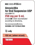 Amoxicillin Oral Suspension 250mg/5mL 150mL
