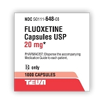 Fluoxetine HCl Caps 20mg #1000