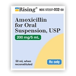Amoxicillin for Oral Suspension 200mg/5mL 100mL (exp 12/31/20)