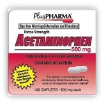 Acetaminophen Tabs 500mg #100