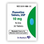 Fluoxetine HCl Tabs 10mg #30