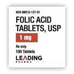 Folic Acid Tabs 1mg #100