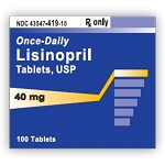 Lisinopril Tabs 40mg #1000