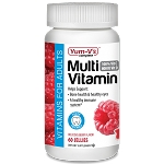 Adult Multivitamin & Multimineral Gummy Rasberry #60