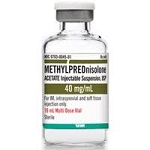 Methylprednisolone Acetate Injectable Suspension MDV 40mg/mL 10mL (exp 10/31/21)