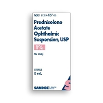 Prednisolone Acetate Ophthalmic Suspension 1% 5mL