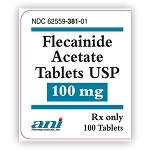 Flecainide Acetate Tabs 100mg #100