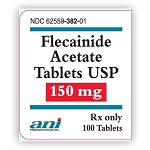 Flecainide Acetate Tabs 150mg #100