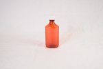 Graduated Oval Bottle (Plastic) 8oz 100/case