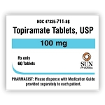 Topiramate Tabs 100mg #60