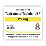 Topiramate Tabs 25mg #60