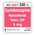 Cyclobenzaprine HCl Tabs 5mg #100