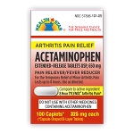 Acetaminophen Tabs 325mg #50