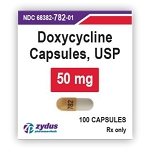 Doxycycline Mono Caps 50mg #100