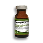 Praziquantel Injection Solution 56.8mg/mL 10mL