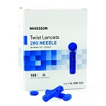 Twist Top Lancets 1.8mm Needle 28g 100/bx