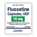 Fluoxetine HCl Caps 10mg #100