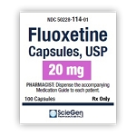 Fluoxetine HCl Caps 20mg #100