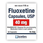 Fluoxetine HCl Caps 40mg #30