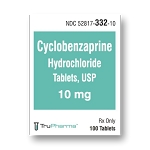 Cyclobenzaprine Tabs 10mg #100
