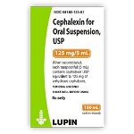 Cephalexin Suspension 125mg/5mL 100mL