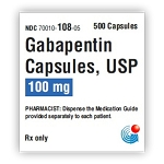 Gabapentin Caps 100mg #500