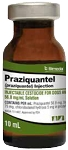 Praziquantel Injection Solution 56.8 mg/mL 10mL