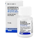 Azithromycin Susp 100mg/5mL 15mL