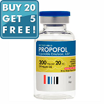 Propofol 1% 10mg/mL 20mL Vial