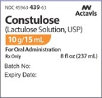 Lactulose 10g/15mL 8oz