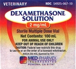 Dexamethasone 2mg/mL 100mL Vial