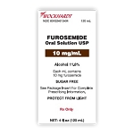 Furosemide Oral Solution 10mg/mL 120mL