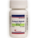 Enalapril Maleate Tabs 20mg #100