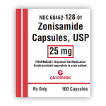 Zonisamide Caps 25mg #100