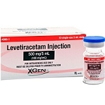 Levetiracetam 100mg/mL 5 mL 10/box